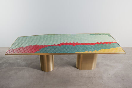 India Mahdavi, 'Landscapes table #1'