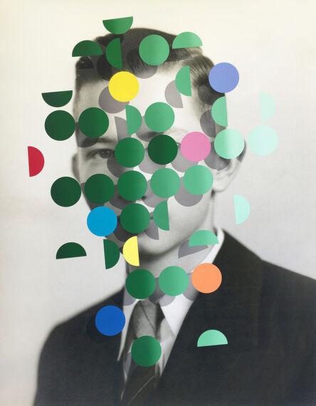 Julie Cockburn, 'Dapple (Green Man 1)', 2019