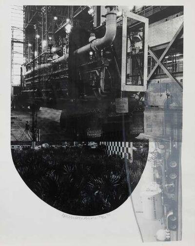 Robert Rauschenberg, 'Tracks (from Stoned Moon Series)', 1970