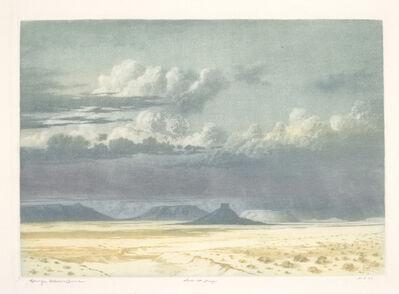 George Elbert Burr, 'Arizona Clouds ', 1915
