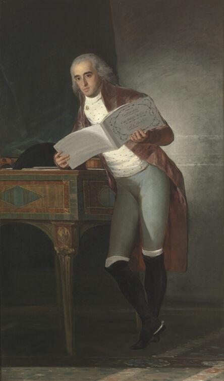 Francisco de Goya, 'The Marquis of Villafranca and Duke of Alba', 1795