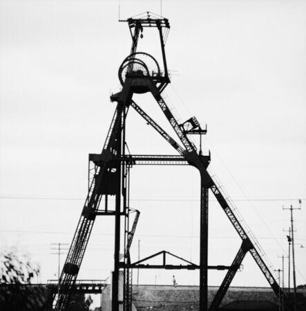 David Goldblatt, 'Stripped headgear, Comet deep, East Rand Proprietary Mines, Boksburg. November 1965', 1965