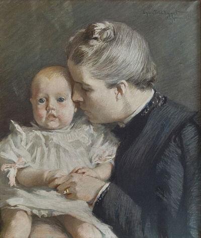 Lydia Field Emmet, 'The Grandchild', 1895
