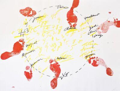 Antoni Tàpies, 'Antoni Tapies, Suite Catalana, plate 1, 1972', 1972