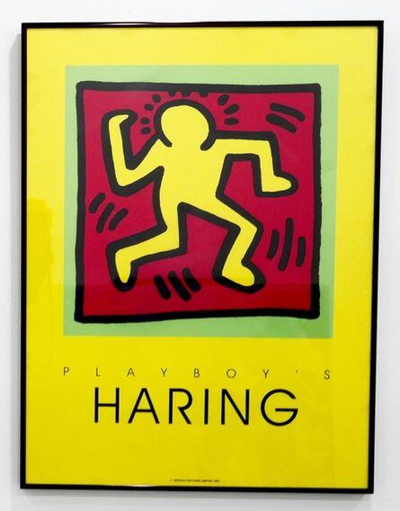 Keith Haring, 'Playboy's Haring (Poster)', 1991