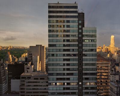 Gail Albert Halaban, 'Out My Window, 59th Street, Rainbow', 2010