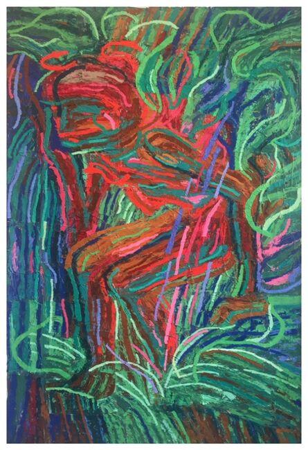 Gerald Davis, 'Bather Dark Green Second Version', 2018