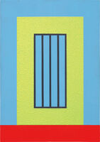 Peter Halley, 'Yellow Prison', 1999