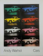 Andy Warhol, 'Cars: Mercedes-Benz 300 SL Coupe, 1954', 1988
