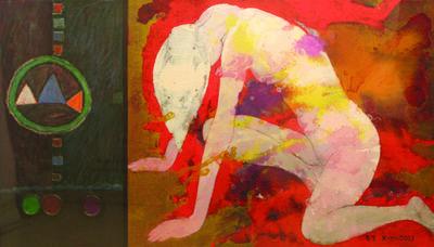 Sou Kim (Heungsou Kim), 'The Mercy of Buddha', 1997