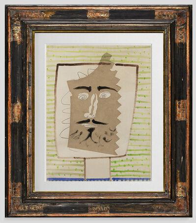Pablo Picasso, 'Tête de faune barbu', 1946