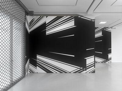 Christine Rusche, 'BAFFLE (Raum-Zeichnung)', 2015