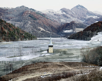 Tamas Dezso, 'The Flooded Village of Geamana (Geamana, Central Romania)', 2012