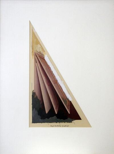 Ger van Elk, 'Study for Adieu Painting', 1978