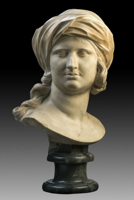 Giulio Cartari, 'Head of a Sybil', c. 1641 – Rome-1699