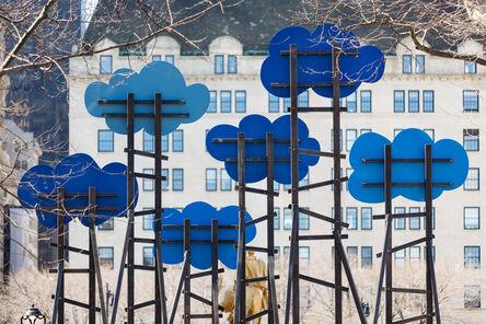 Olaf Breuning, 'Clouds', 2014