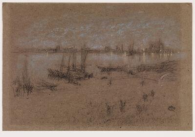 James Abbott McNeill Whistler, 'Nocturne: Venice', 1880