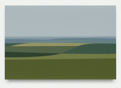 Julian Opie, 'Valley 3', 2017