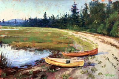 Takeyce Walter, 'Day 20: Two Canoes', February 2020