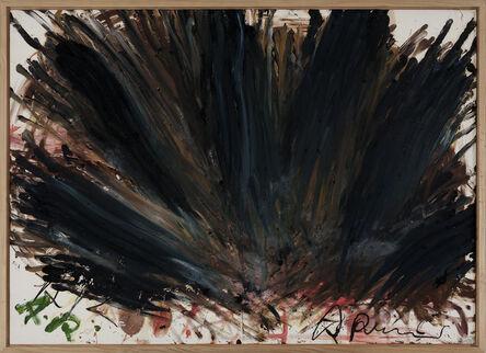 Arnulf Rainer, 'Schwarze Hand', 1981