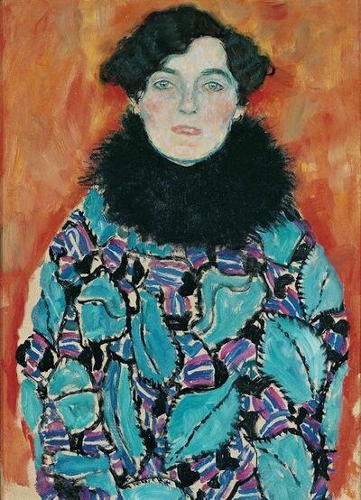 Gustav Klimt, 'Johanna Staude,', 1917-1917
