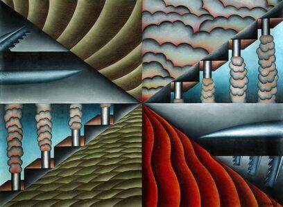 Antonio Henrique Amaral, 'Field of Opposites', 1992