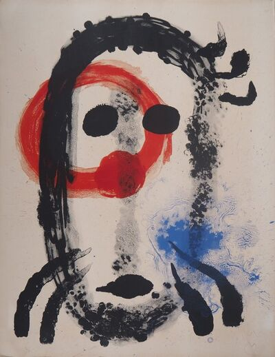 Joan Miró, 'Portrait surréaliste', 1961