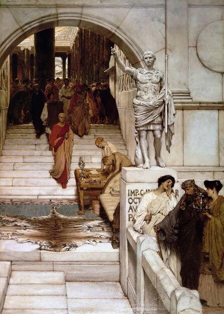 Sir Lawrence Alma-Tadema, 'An Audience at Agrippa's', 1875