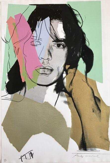 Andy Warhol, 'Mick Jagger FS 11.140', 1975