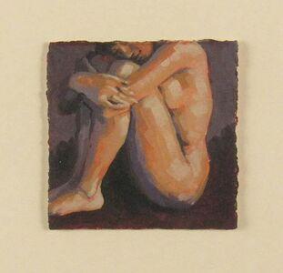 Karin Jurick, 'Female Nude Holding Knees', ca. 2000