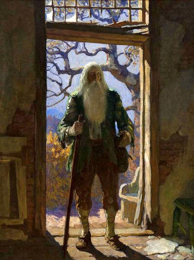 N.C. Wyeth, 'Return of Rip Van Winkle', 1921
