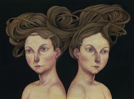 Anita Kunz, 'Conjoined'