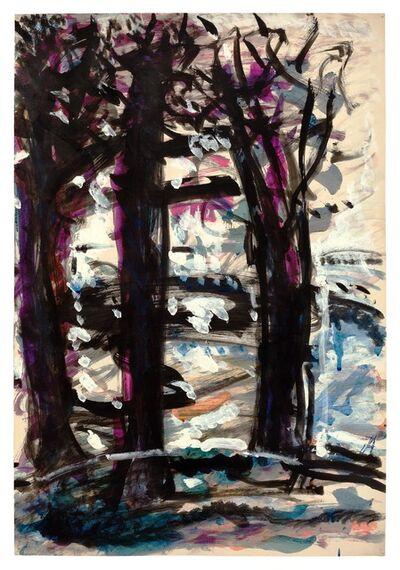 Fritz Ascher, 'Three Trees', undated