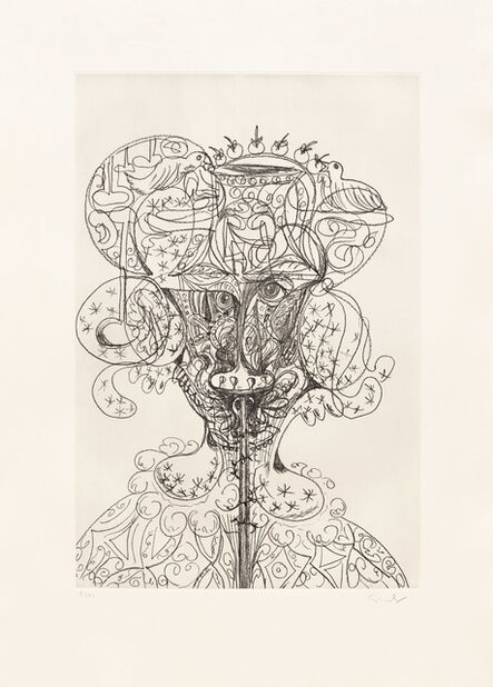 George Condo, 'Untitled (Portrait) ', 1989