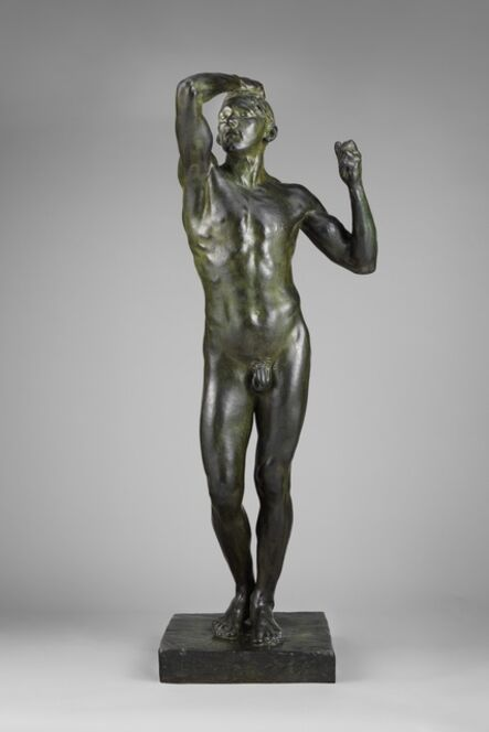 Auguste Rodin, 'The Age of Bronze', Modeled 1876-cast ca. 1906