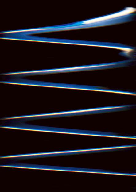 Carsten Nicolai, 'Chroma wellenform (Scan 34)', 2015