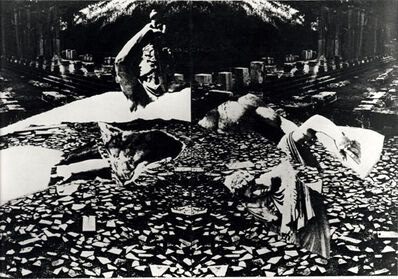 Giulio Paolini, 'PAETUS AND ARRIA Known as well as FULVIUS E SUA MOGLIE, GAUL E SUA MOGLIE, MACAREUS ET CANACE, PRIAMO E TISBE, SEXTUS MARIUS', 1982