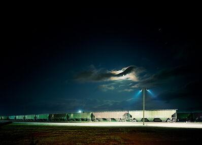Victoria Sambunaris, 'Untitled (Night Train), Galveston, Texas', 2015