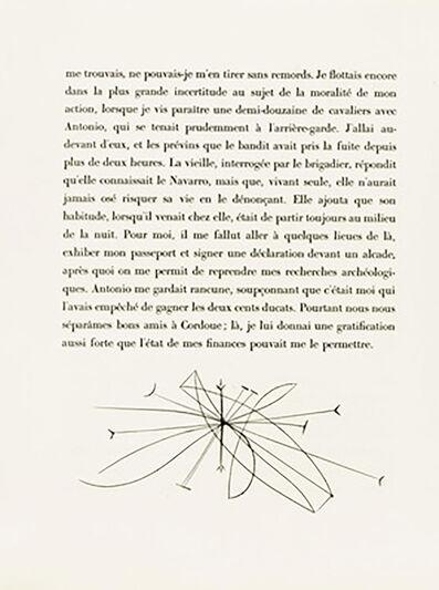 Pablo Picasso, 'Plate VI (Abstract Design)', 1949