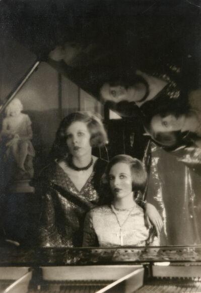 Cecil Beaton, 'Baba and Nancy Beaton', ca. 1926