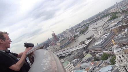 Christoph Rütimann, 'Handlauf Millenium Bridge (London)', 2014