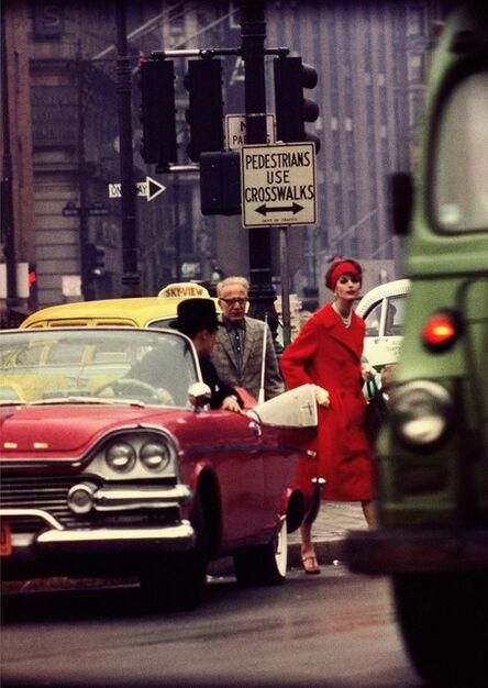 William Klein, 'Anne Marie + cruiser', 1963