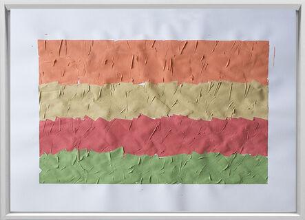 Rodrigo González Castellanos, 'Desgaste de la psicología del color, Placer', 2020
