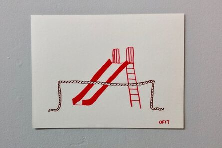 Oscar Figueroa, 'Slide Behind Rope', 2017