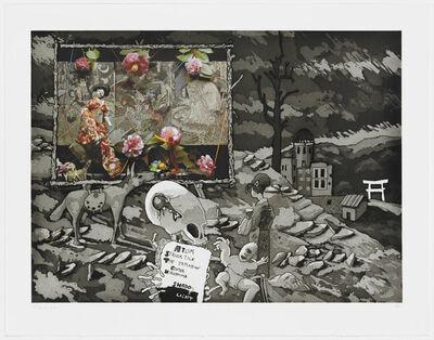 Robert Fichter, 'Atom Struck Tile The Explosion Center Hiroshima Shade/Light', 1984