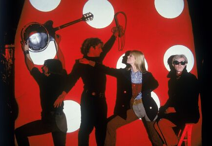 Hervé GLOAGUEN, 'Andy WARHOL and the Velvet Underground, NY 1966 (With John CALE, Gérard MALANGA, Nico)', 1966