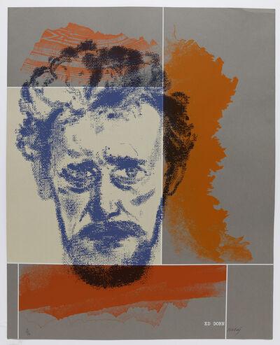 R. B. Kitaj, 'Ed Dorn', 1966