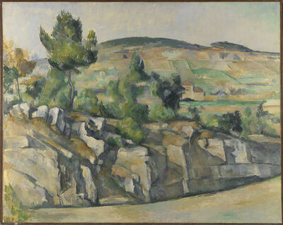 Paul Cézanne, 'Hillside in Provence', about 1890-1892