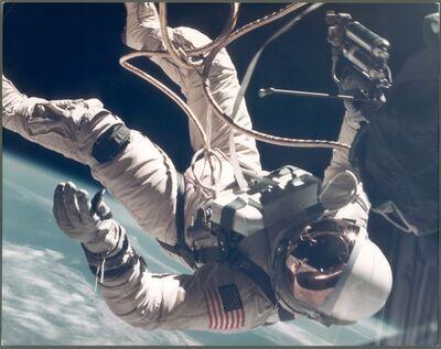 James McDivitt, 'Ed White walking in space over New Mexico (EVA) (Large Format), Gemini 4, June 1965'