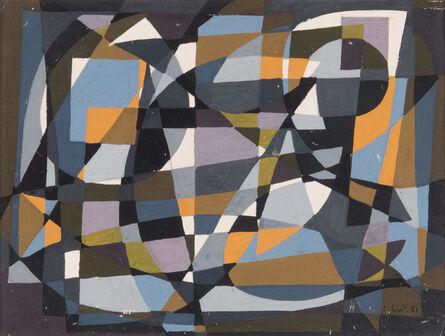 Jean-Claude Libert, 'Composition géométrique', 1951